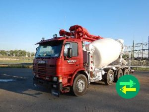 Scania mixer pump 1