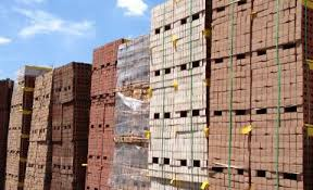 pallets of Bricks